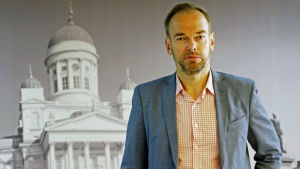Markus Österlund är folktingssekreterare vid Svenska Finlands Folkting.