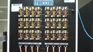 Batteritestning på Centria.