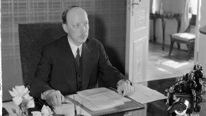Presidentti Ryti Helsinki 1941.07.05