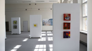 Vy från utställningen ArtSibbe 17