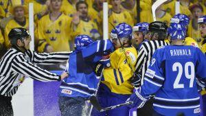 Finland och Sverige har gått stenhårda kamper i JVM de senaste åren.