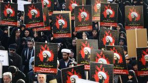 Avrättningen av Sheik Nimr al-Nimr har lett till omfattande protester i Iran och en diplomatisk kris mellan Iran och Saudiarabien