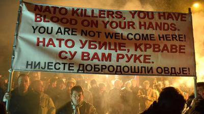 Montenegro pa vag mot nato