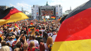 Berlin, Brandenburger Tor, Tysklands VM-fest