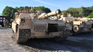 amerikansk abrams-stridsvagn