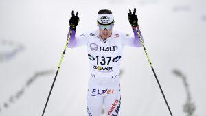 Sami Jauhojärvi firar seger i FM