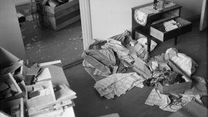 Viipurilainen asunto 19. kesäkuuta 1944.