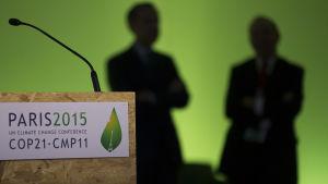 Klimatmötet i Paris