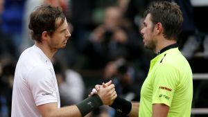 Andy Murray vann över Stan Wawrinka i Paris 2016.