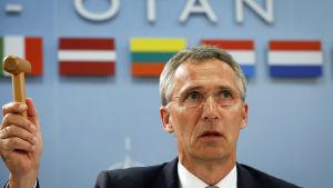 Natos generalsekreterare Jens Stoltenberg.