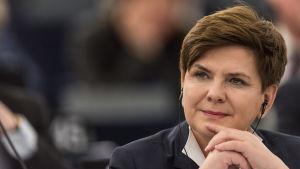 Polens premiärminister,  Beata Szydlo.