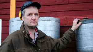 Johan Wasström är mjölkproducent i Svartå.