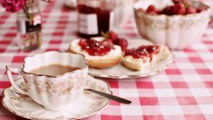 Cream tea, Englanti