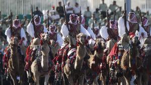 Jordanien är en ledande medlem av den internationella militärkoalitionen mot IS. Den jordanska armén firade nyligen hundraårsminnet av arabupproret i Jordanien