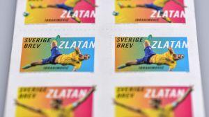 Zlatan på frimärke 2014