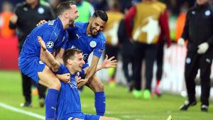 Leicester firar ett mål