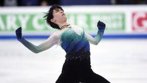 Yuzuru Hanyu vid VM i Helsingfors