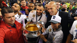 Karim Benzema, Zinédine Zidane.