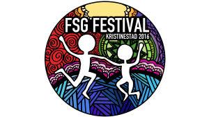 Logon för FSG festival i Kristinestad 2016