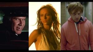 skärmdumpar ur musikvideor