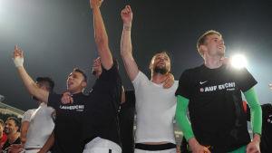 Eintracht Frankfurt hölls kvar i bundesligan 2016.