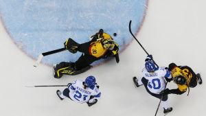 Finland skall försöka slå Tyskland i VM-bronsmatchen.