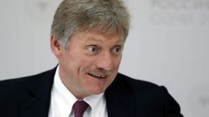 Vladimir Putins pressekreterare Dimitri Peskov.