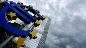 ECB:s huvudkontor i Frankfurt, Tyskland