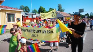Prideparad på Åland