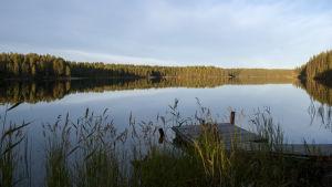 Öllörijärvi on suosittu sukelluskohde.