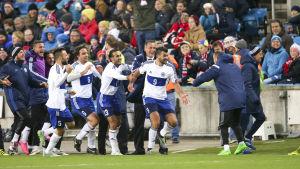 Mattia Stefanelli gjorde mål i Norge.