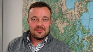 Markus Lindroos ansvarar för samhällstekniken i Lovisa.