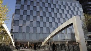 Världens största Zara-butik i Madrid, Spanien.
