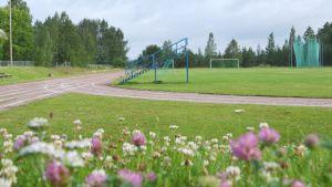 Mariebergs idrottsplan i Lappträsk.