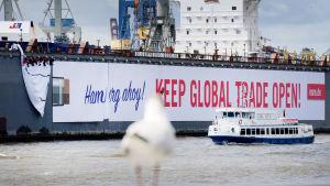 G20-möte i Hamburg den 7-8 juli.