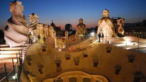 Gaudin suunnittelema rakennus Barcelonassa