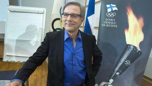 Risto Nieminen, ordförande för Finlands olympiska kommittén, 2012.