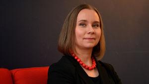Niina Laajapuro, Amnestys verksamhetsledare i Finland.