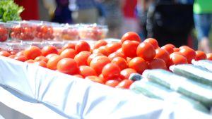 Tomater på Tomatkarnevalen i Närpes