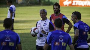 Claudio Ranieri leder det grekiska landslaget i fotboll