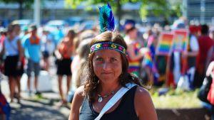 Nicole Stambej på Åland Pride