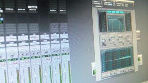 kuva digitaalisesta mixeristä näytöllä