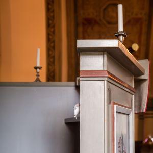 Predikastol och kyrkmus