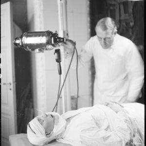 29.1.1940 Ruotsal.Pun.Ristin ambulanssiasema. Hämekoskella Laatokan Karjalassa.