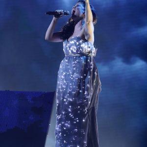 Saara Aalto i X Factor den 4 december 2016.