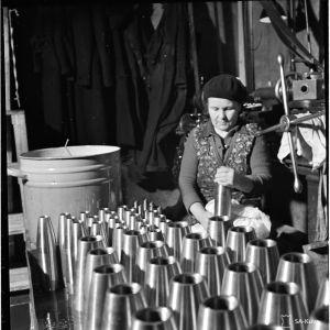 25.1.1940 Ammustehdas vanhassakaupungissa.
