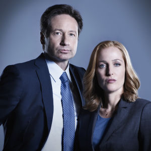 Fox Mulder (David Duchovny) ja Dana Scully (Gillian Anderson)