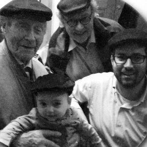 Neljä sukupolvea Livsonin miehiä