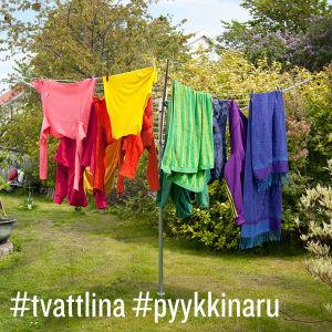 Projektet #tvättlina