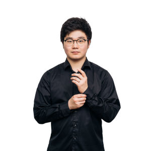 kuvassa RSO:n klarinetisti Han Kim